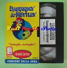 film VHS cartonata DASTARDLY & MUTTLEY Medaglia CORRIERE SERA (F67) no dvd
