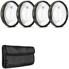 Macro lens kit for Canon 10X close up hd photo photography 72mm for 28-135mm af