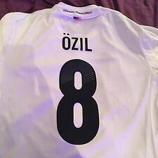 * Mesut Ozil 8 Alemania Camiseta De Fútbol T Shirt Camiseta L Arsenal de la Copa del Mundo *