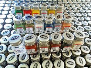 Testors Metallic Enamel Model Paint Set - 8 BOTTLES
