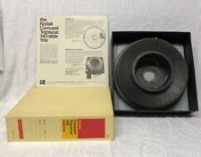 Vintage Kodak Carousel Transvue 140 Slide Projector Tray Original Box