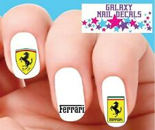 Waterslide Nail Decals - Set of 20 Ferrari Assorted