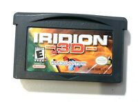 Iridion 3D NINTENDO GAMEBOY ADVANCE GBA GAME Tested + Working & Authentic!