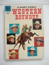 Dell Giant Western Roundup #18 VG Toth Art