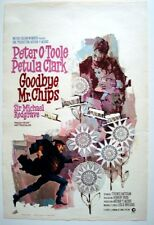 GOODBYE MR. CHIPS Belgian movie poster PETER O'TOOLE PETULA CLARK RAY Art 1969