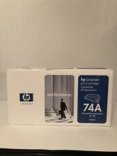 NEW HP 74A 92274A OEM Genuine Black Laserjet Toner Print Cartridge Sealed