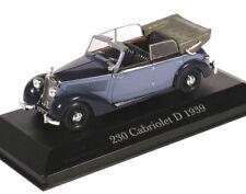 1:43 Altaya - Mercedes Benz 230 D Cabriolet 1939 W153 - blau/schwarz