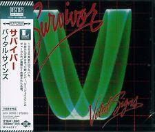 SURVIVOR VITAL SIGNS 2013 JAPAN RMST BLUE-SPEC CD2 HIGH FIDELITY FORMAT CD+1