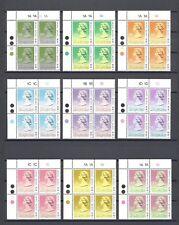 HONG KONG 1989 SG 600/15 MNH Blocks of 4 Cat £320