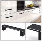 Boss Bar Kitchen Bedroom Furniture Handle Cupboard Cabinet Door Drawer Black