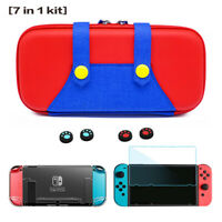 7in1 Portable Case Storage Bag Hard Shell Pouch For Nintendo Switch Accessories