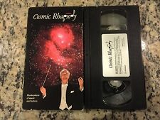 COSMIC RHAPSODY RARE VHS! NOT ON DVD 1993 CLASSICAL MUSIC + SPACE PHOTOGRAPHY!