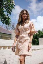 3448ee14649 Zimmermann Painted Heart Chevron Pink Dress Size 2