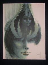 FRANCIS de LASSUS SAINT GENIES , 1925 VAL ANDRE / BRETAGNE . COLORLITHOGRAPHIE