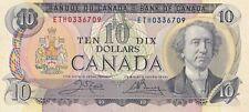 Canadian 1971 $10 Bill