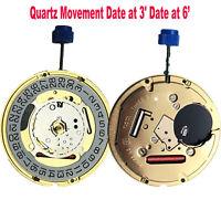Für Uhrenreparaturteile Swiss ETA F06.111 Quarzwerk Datum bei 3' Datum bei 6