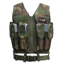 Tactical Swat Weste Woodland Camo Brustpanzer Einsatzweste Gotcha Paintball