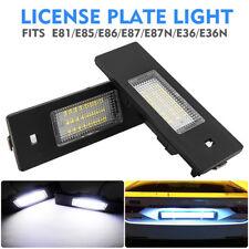 2x LED SMD TARGA LUCE TARGA BMW 1 6 Z Series E81 E87 E63 E64 Z4 Mini 63267165735