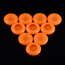 10 PCS Orange Thumb Grips Thumbsticks Cap Cover for PS4 Xbox One Controller
