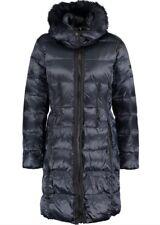 DIANE VON FURSTENBERG Rebecca Navy  Down Padded Hooded Coat Size Large