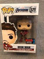 Funko pop the avengers end game iron man tony stark exclusive marvel toy toys