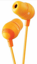 JVC Marshmallow Orange Stereo Memory Foam Earbuds 8 to 20000 HZ