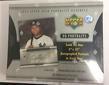 2005 Upper Deck Portraits Baseball Hobby Box Factory Sealed