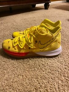 Nike Kyrie 5 spongebob squarepants shoes Men's size 10