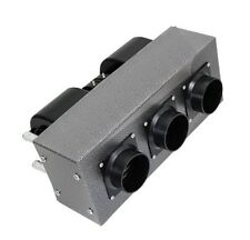 New 12 Volt 2 Blower 3 Speed 3 Ducts High Output 30,000 Btu Auxiliary Heater