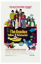 The Beatles * Yellow Submarine* USA  Movie  Poster 1967 Large Format 24x36