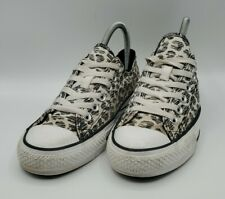 Chuck Taylor Leopard Print Sneakers 548566F Women's Size 7
