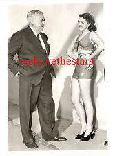 Vintage Anne Gwynne SEXY SWIMSUIT & Mack Sennett '42 PRESS Publicity Portrait