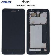 LCD DISPLAY ASUS ZENFONE 2 ZE551ML NERO FRAME VETRO SCHERMO TOUCH SCREEN Z00AD