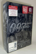 James Bond Ultimate Edition - Vol. 4 (DVD, 2006, 10-Disc Set) - BRAND NEW SEALED