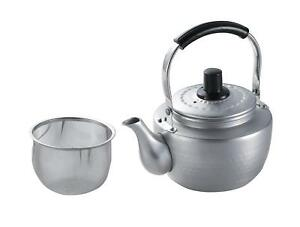 Japanese aluminum Alumite TEA POT 0.9L BEATCO With Tea strainer