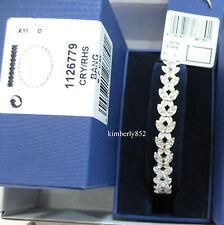 Swarovski Nightingale Pattern Bangle, M Bracelet Crystal Butterflies - 1126779