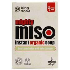 King Soba Organic Miso Soup with Tofu & Ginger 60g