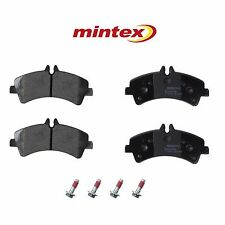 For Mercedes Dodge Freightliner Sprinter 3500 Rear Brake Pad Set w/ DRW Mintex