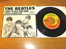 "ORIGINAL BEATLES 45 RPM w/PIC SLEEVE - CAPITOL 5112 - ""I WANT TO HOLD YOUR HAND"""