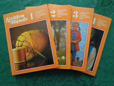 Golden Hands: The Complete Knitting, Dressmaking & Needlecraft Guide. Vols 1 -4.