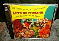 "Joe ""Fingers"" Carr/Lou Busch - Let's Do It Again! (CD, 2010, 2-Disc) SEALED"