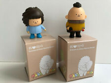 Crazy Label Treeson Series 2 Lot of 2 Vinyl Figures by Bubi Au Yeung - Chestnut,