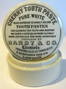 HARDY & CO LONDON CHERRY TOOTH PASTE LID