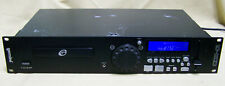 Gemini CDX-01 Professional DJ CD Player pitch bend BPM tap, line input