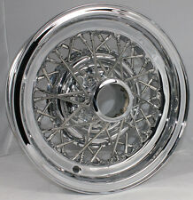 "Buick Skylark 40-Spoke Kelsey Hayes Wire Wheels 15 X 6"" Truespoke Restoration"