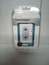 Cassette Tape Adapter 3.5mm Jack To Play iPod Mp3 Players Cd Players Laptops New