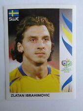 Panini Germany 2006 World Cup Sticker # 166 Zlatan IBRAHIMOVIC Sweden  Mint