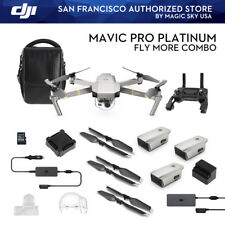 DJI Mavic Pro Fly More Combo Platinum In Stock Magic Sky USA