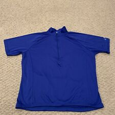 Bellwether Blue Cycling Jersey Training Active Cycle Mens Large