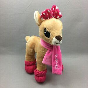 Clarice Plush Stuffed Animal Toy Dan Dee Rudolph Reindeer Christmas